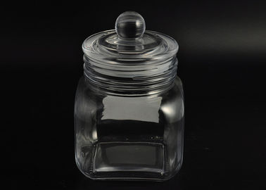 Bean Glass Tableware Airtight Food Storage Containers , Airtight Glass Jars
